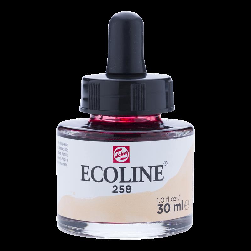 Ecoline Vloeibare Waterverf Flacon 30 ml Abrikoos 258