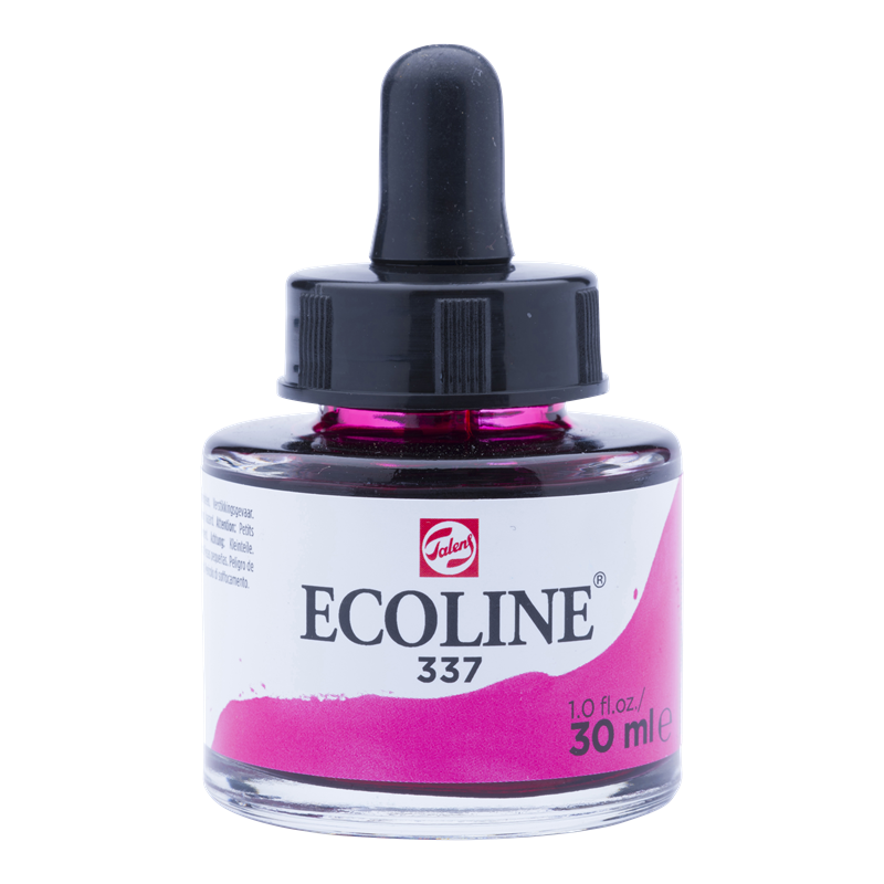 Ecoline Vloeibare Waterverf Flacon 30 ml Magenta 337