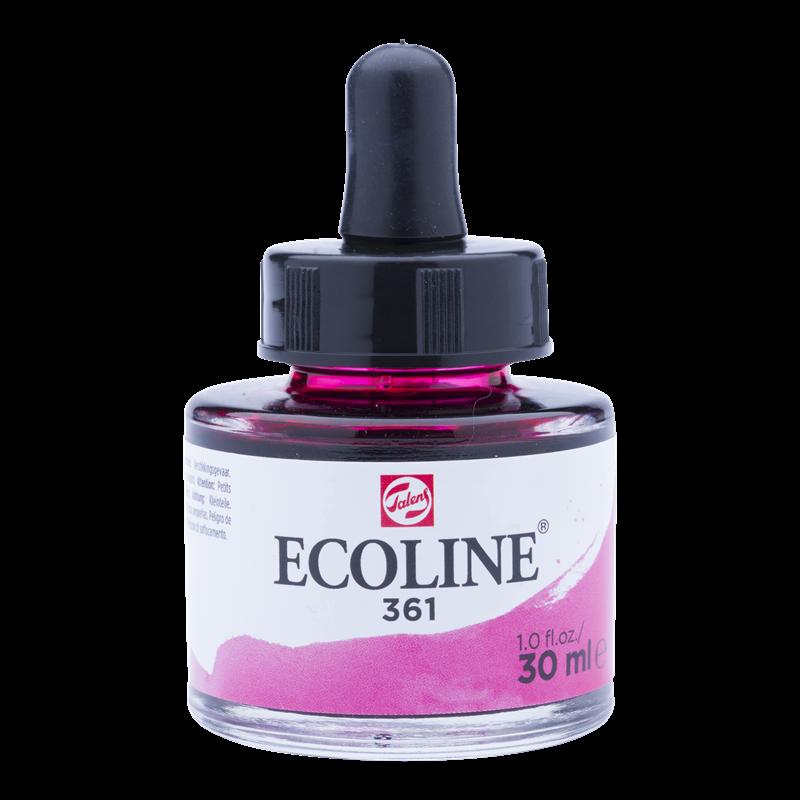 Ecoline Vloeibare Waterverf Flacon 30 ml Lichtroze 361
