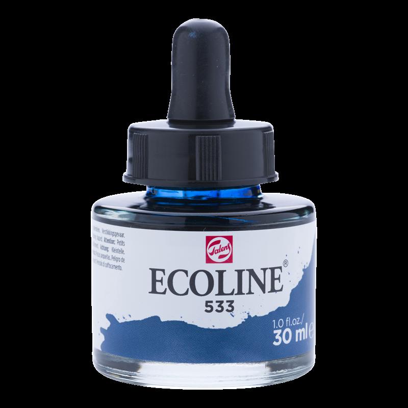 Ecoline Vloeibare Waterverf Flacon 30 ml Indigo 533