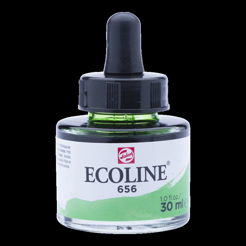 Ecoline Vloeibare Waterverf Flacon 30 ml Woudgroen 656