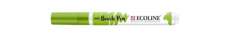 Ecoline Brush Pen Lentegroen 665