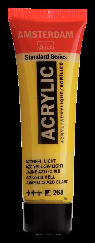 Amsterdam Standard Series Acrylverf Tube 20 ml Azogeel Licht 268