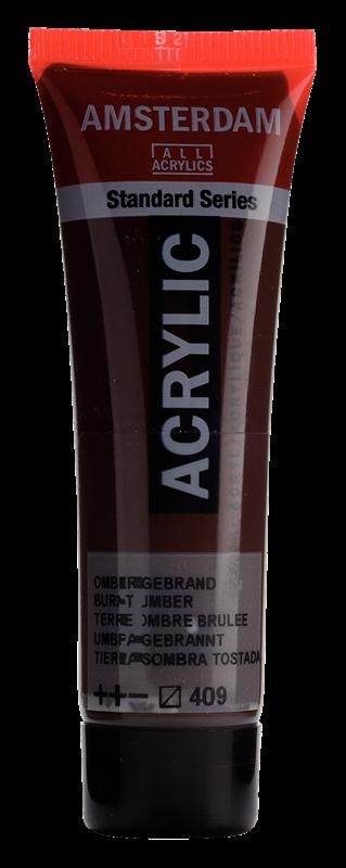 Amsterdam Standard Series Acrylverf Tube 20 ml Omber Gebrand 409