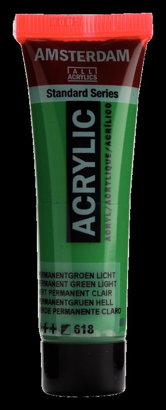 Amsterdam Standard Series Acrylverf Tube 20 ml Permanentgroen Licht 618