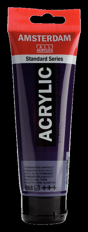 Amsterdam Standard Series Acrylverf Tube 120 ml Permanentblauwviolet 568