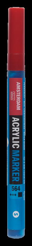 Amsterdam Markers 2 mm Briljant Blauw 564