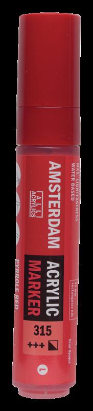Amsterdam Markers 15 mm Pyrrolerood 315