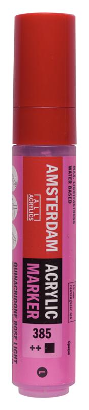 Amsterdam Markers 15 mm Quinacridoneroze Licht 385