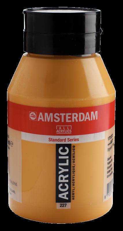Amsterdam Standard Series Acrylverf Pot 1000 ml Gele Oker 227