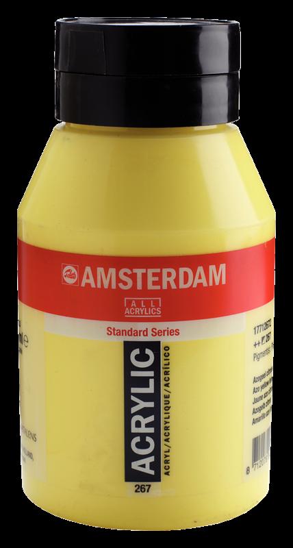 Amsterdam Standard Series Acrylverf Pot 1000 ml Azogeel Citroen 267