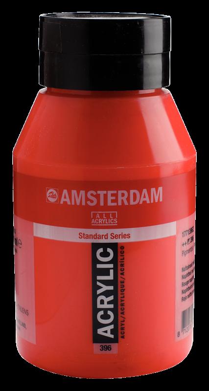 Amsterdam Standard Series Acrylverf Pot 1000 ml Naftolrood Middel 396