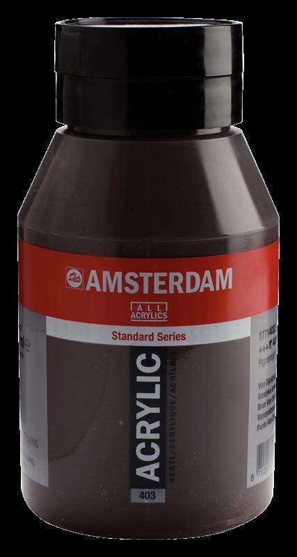 Amsterdam Standard Series Acrylverf Pot 1000 ml Van Dijckbruin 403