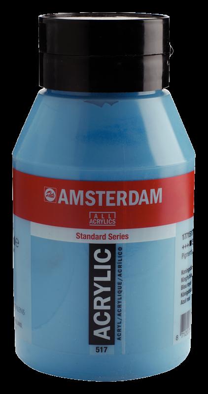 Amsterdam Standard Series Acrylverf Pot 1000 ml Koningsblauw 517