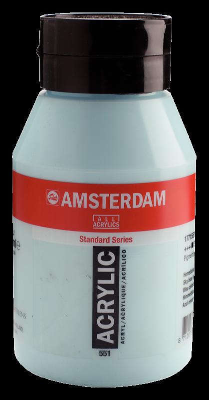 Amsterdam Standard Series Acrylverf Pot 1000 ml Hemelsblauw Licht  551