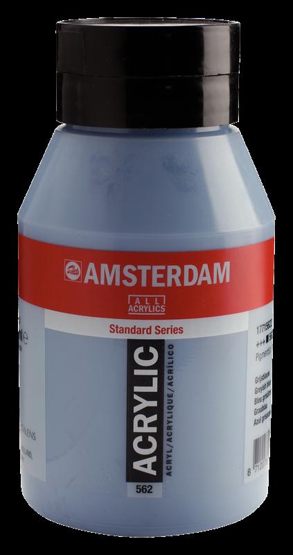 Amsterdam Standard Series Acrylverf Pot 1000 ml Grijsblauw 562