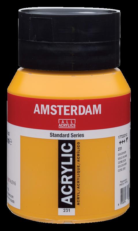Amsterdam Standard Series Acrylverf Pot 500 ml Goudoker 231