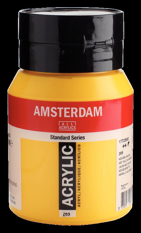 Amsterdam Standard Series Acrylverf Pot 500 ml Azogeel Middel 269