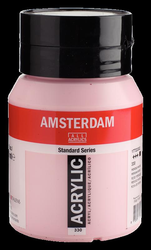 Amsterdam Standard Series Acrylverf Pot 500 ml Perzischroze 330