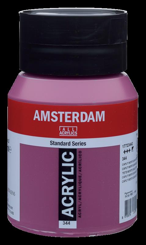 Amsterdam Standard Series Acrylverf Pot 500 ml Caput Mortuum Violet 344