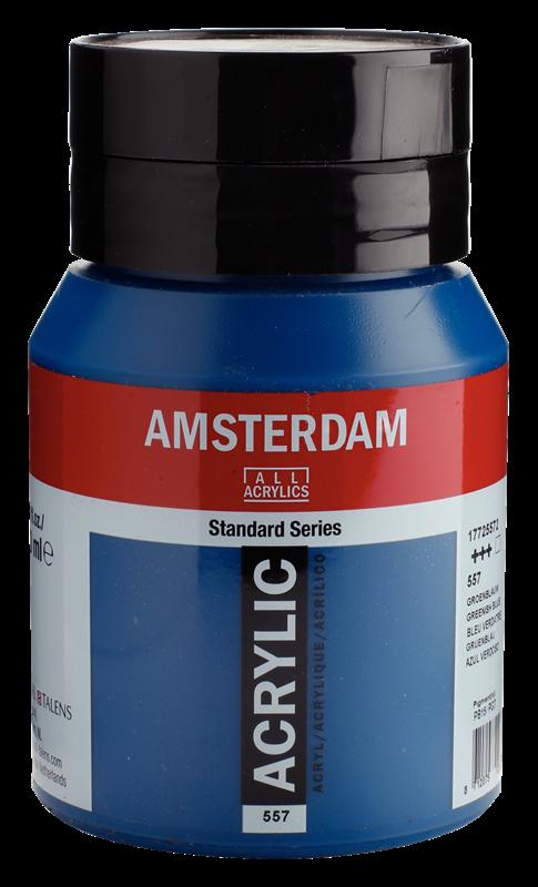 Amsterdam Standard Series Acrylverf Pot 500 ml Groenblauw 557