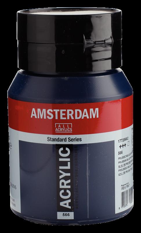 Amsterdam Standard Series Acrylverf Pot 500 ml Pruisischblauw (Phtalo) 566