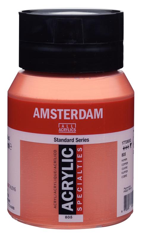 Amsterdam Standard Series Acrylverf Pot 500 ml Koper 805