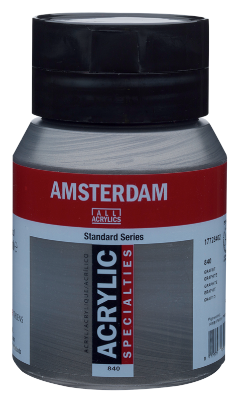 Amsterdam Standard Series Acrylverf Pot 500 ml Grafiet 840