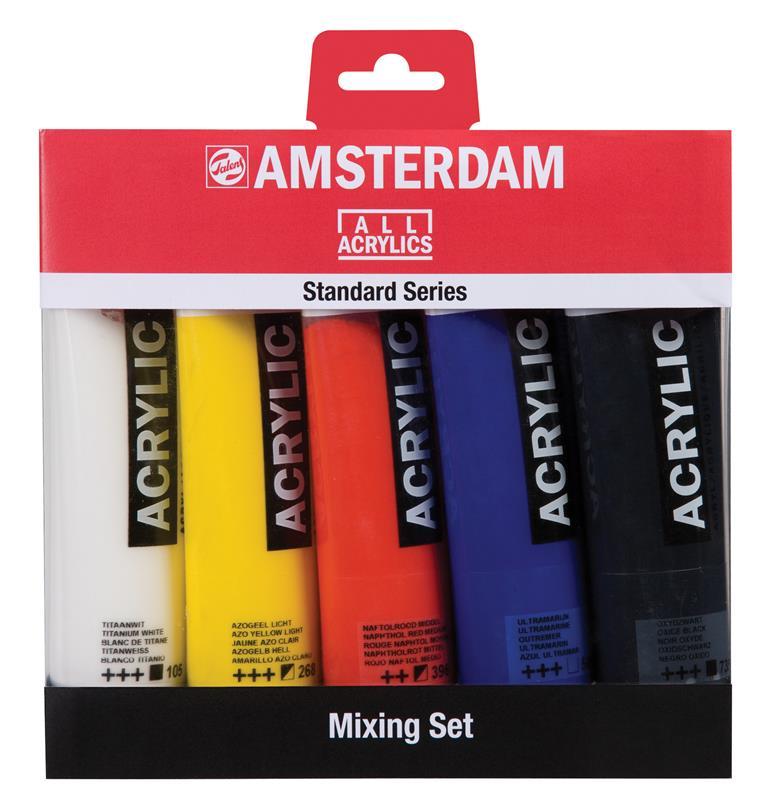 Amsterdam Standard Series Acrylics Mengset - 5 x 120 ml