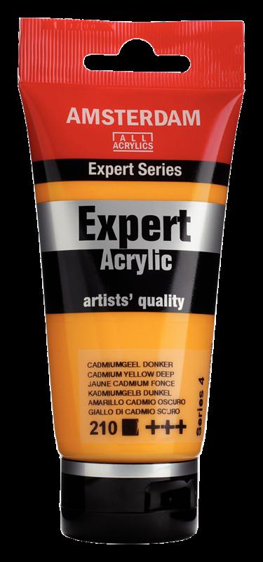 Amsterdam Expert Series Acrylique Tube 75 ml Jaune de cadmium foncé 210