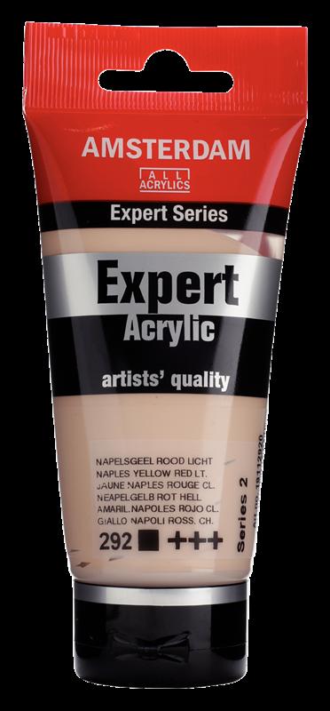 Amsterdam Expert Series Acrylverf Tube 75 ml Napelsgeel Rood Licht 292