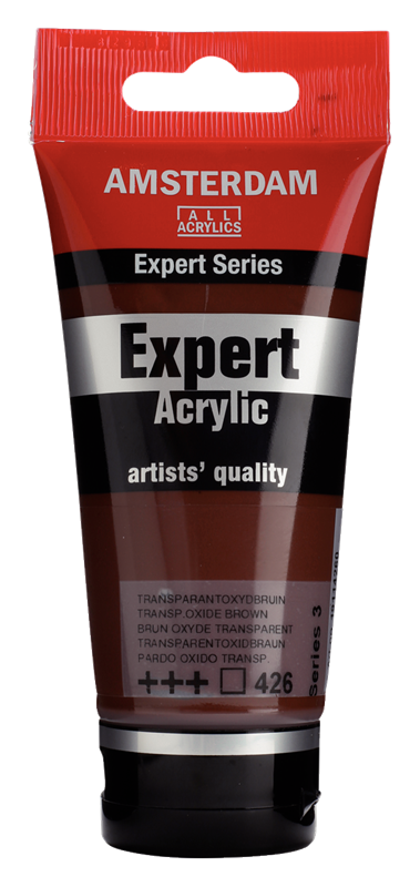 Amsterdam Expert Series Acrylverf Tube 75 ml Transparantoxydbruin 426