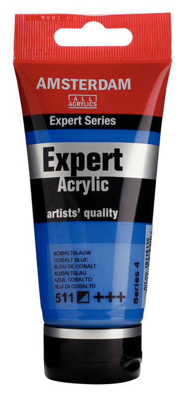 Amsterdam Expert Series Acrylverf Tube 75 ml Kobaltblauw 511