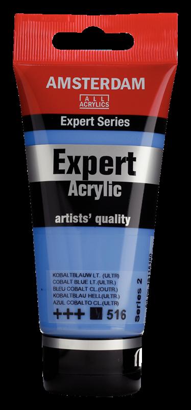 Amsterdam Expert Series Acrylverf Tube 75 ml Kobaltblauw Licht (Ultramarijn) 516
