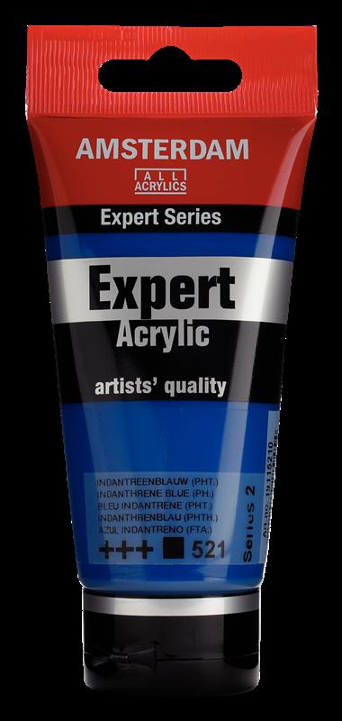 Amsterdam Expert Series Acrylverf Tube 75 ml Indantreenblauw (Phtalo) 521