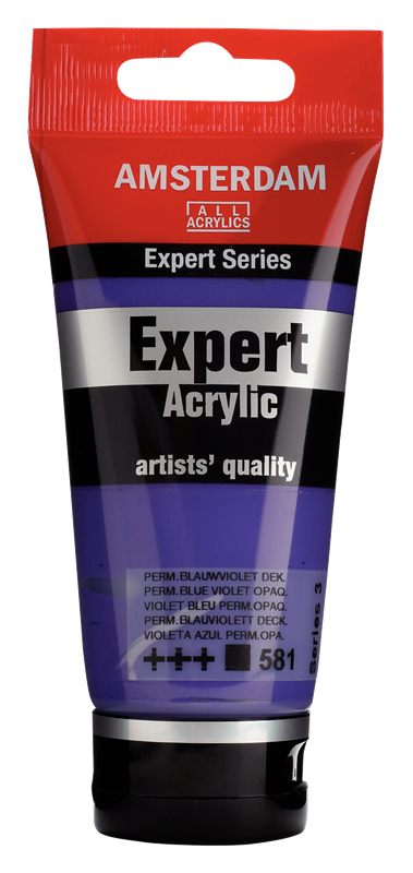 Amsterdam Expert Series Acrylverf Tube 75 ml Permanentblauwviolet 581