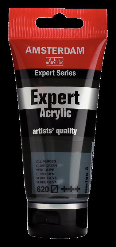 Amsterdam Expert Series Acrylverf Tube 75 ml Olijfgroen 620