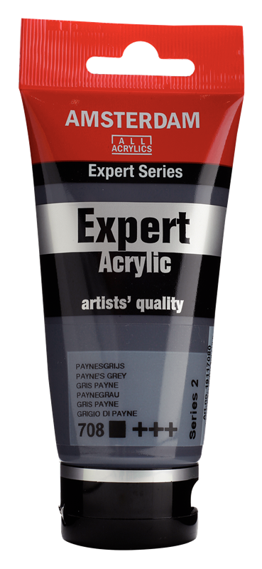 Amsterdam Expert Series Acrylverf Tube 75 ml Payne'S Grijs 708