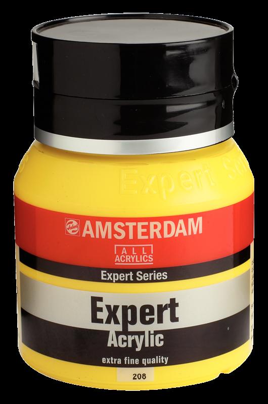 Amsterdam Expert Series Acrylverf Pot 400 ml Cadmiumgeel Licht 208