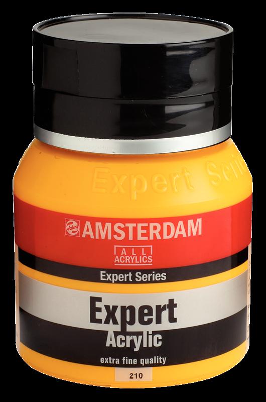 Amsterdam Expert Series Acrylverf Pot 400 ml Cadmiumgeel Donker 210