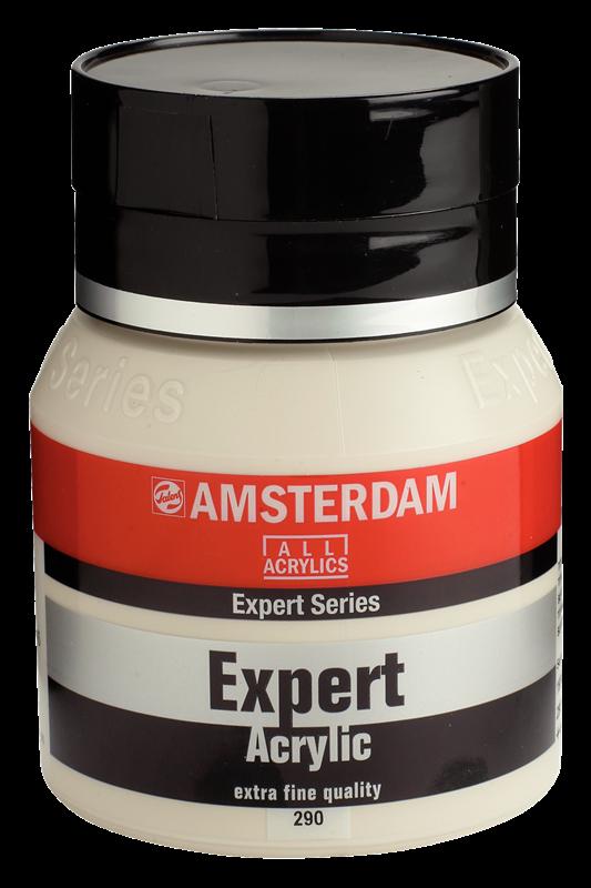 Amsterdam Expert Series Acrylverf Pot 400 ml Titaanbuff Donker 290