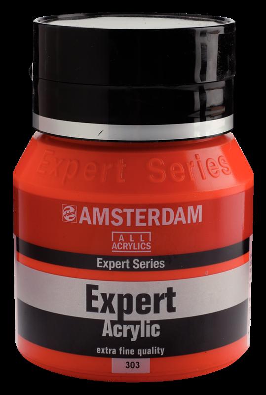 Amsterdam Expert Series Acrylverf Pot 400 ml Cadmiumrood Licht 303