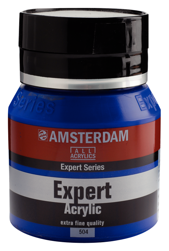 Amsterdam Expert Series Acrylique Pot 400 ml Outremer 504