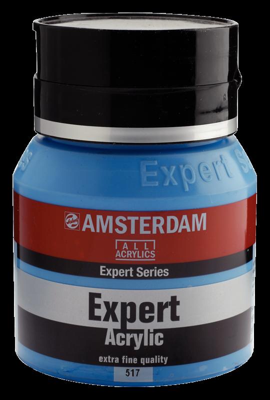 Amsterdam Expert Series Acrylverf Pot 400 ml Koningsblauw 517