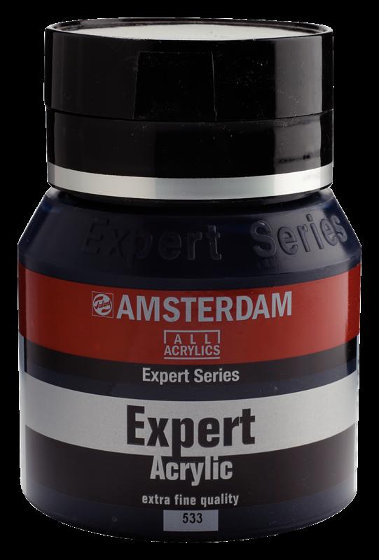 Amsterdam Expert Series Acrylverf Pot 400 ml Indigo 533