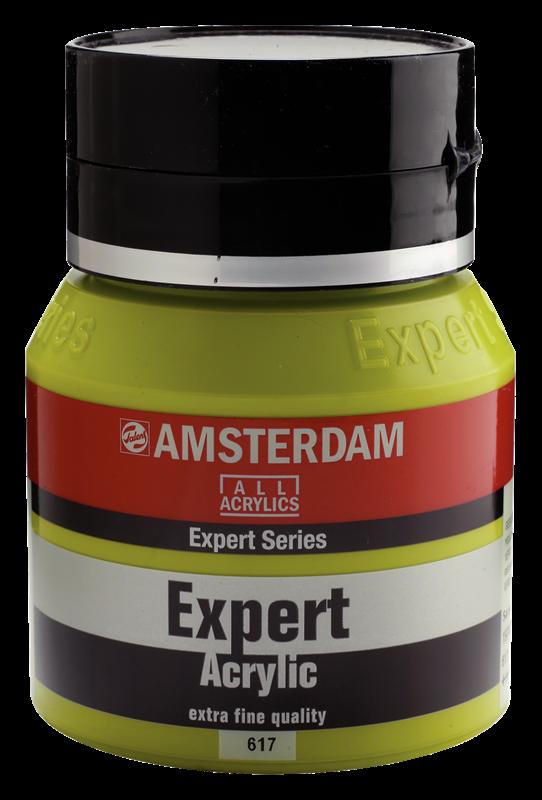 Amsterdam Expert Series Acrylverf Pot 400 ml Geelgroen 617