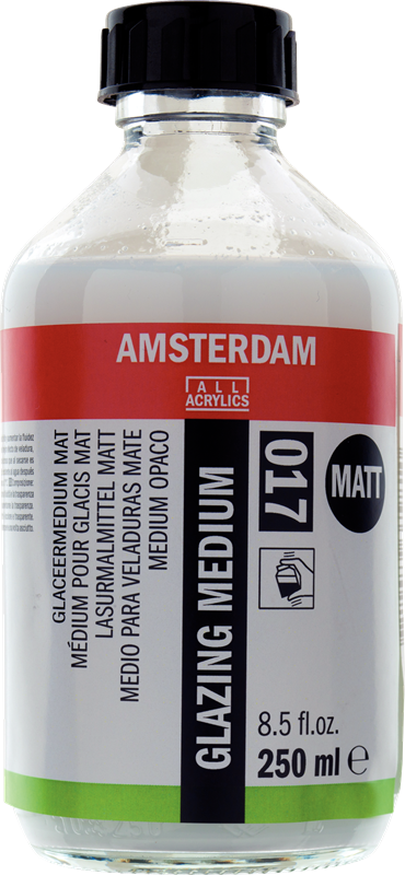 Amsterdam Glaceermedium Mat Flacon 250 ml