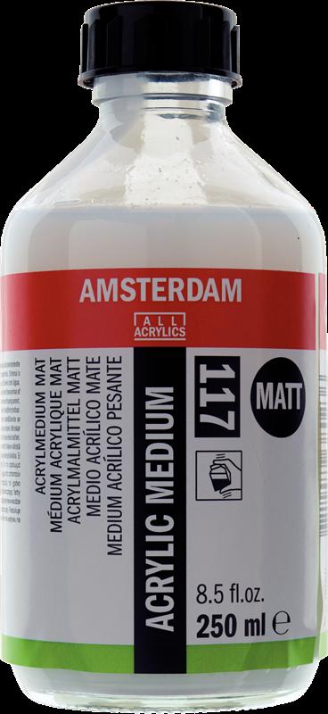 Amsterdam Acrylmedium Mat Flacon 250 ml