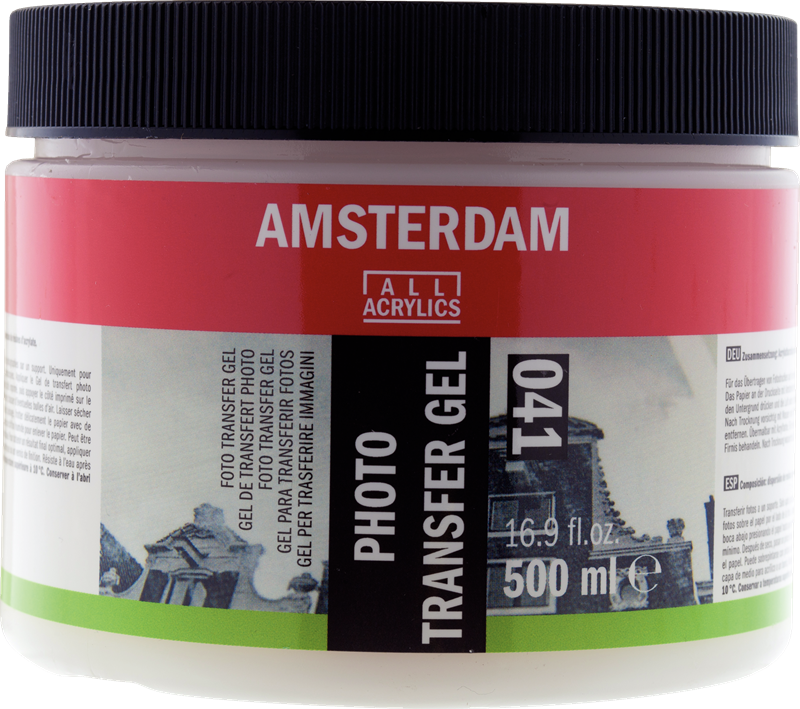 Amsterdam Foto Transfer Gel Pot 500 ml