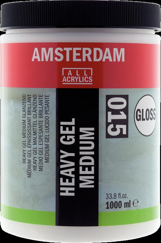 Amsterdam Heavy Gel Medium Glanzend Pot 1000 ml
